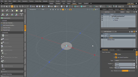 How do I animate an object along a curve? | Foundry Community