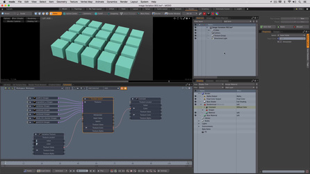 Randomize Textures Across Multiple Objects Using the Same