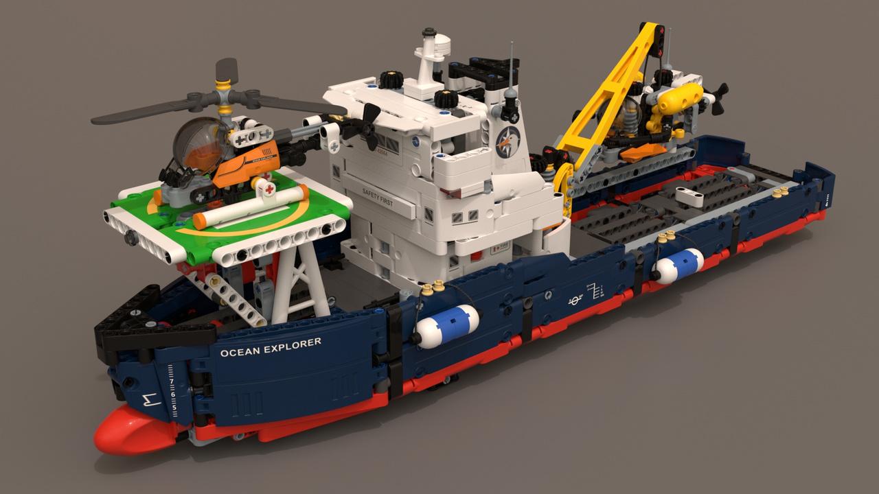 Lego 42064 Ocean Explorer Foundry Community